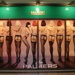 Digitaldruck Schaufensterbeschriftung Palmers