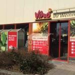 Digitaldruck für Fensterbeklebung Vino Weinmarkt Nürnberg