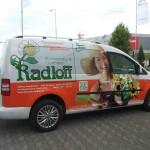 Fahrzeug Vollverklebung VW Caddy Radloff