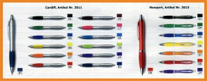 Kugelschreiber Aktion 2015