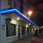 LED Leuchtkontur Ärztehaus