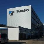 Leuchtschrift Profil 5 LED Tadano 1