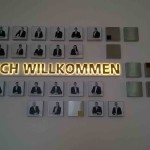 Profil 1 Leuchtkasten mit durchgesteckten Buchstaben TSO Data Nürnberg