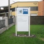 Schildanlage IHK Nürnberg