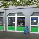 Versicherungsbüro Fensterbeschriftung Stein