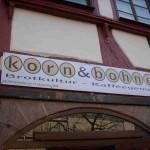 Werbebanner Korn+Bohne